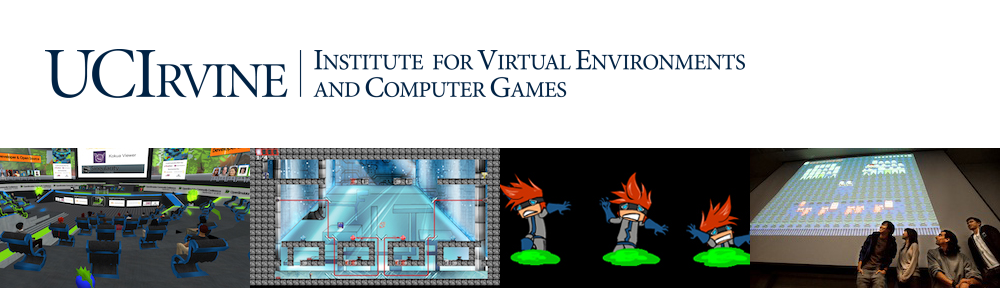 The UC Irvine Institute for Virtual Environments and Computer Games